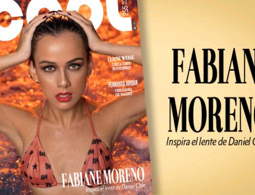 FABIANE MORENO, DE ACTRIZ A MODELO REVELACIÓN
